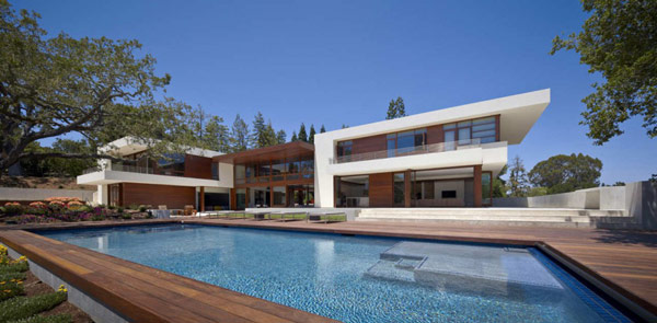 OZ House Family home in Silicon Valley: OZ House by Swatt and Miers Architects