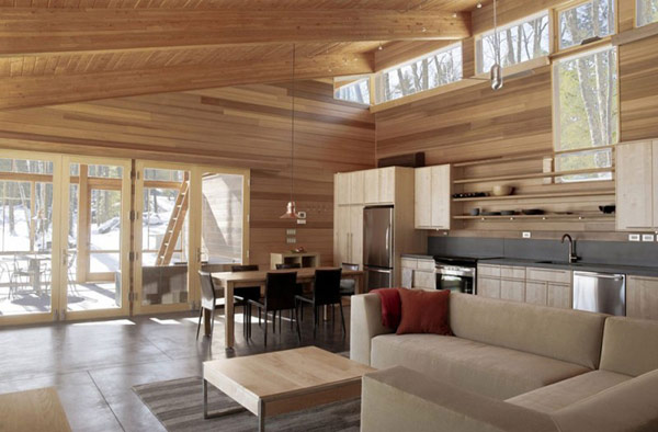 Compact One Room Cabin In Massachusetts Is Impressive