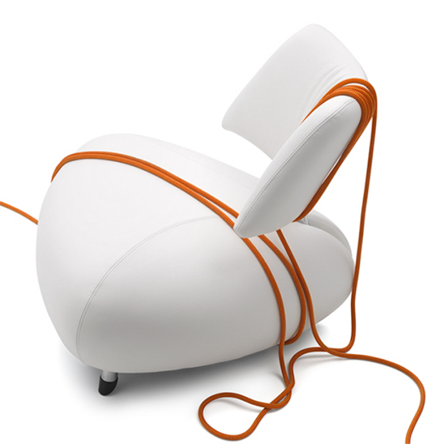 Pallone Leather Armchair 1