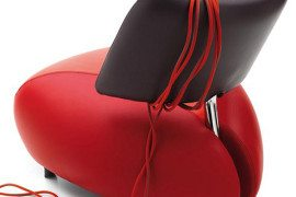 Pallone- Leather Armchair from Leolux Comes in Various Hues