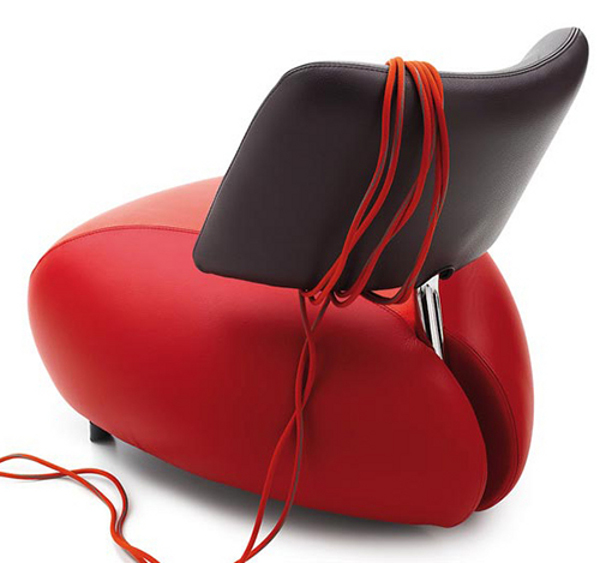 Pallone Leather Armchair 4