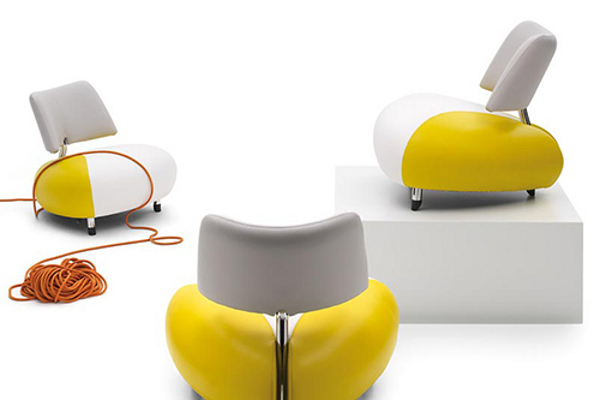 Pallone Leather Armchair 6