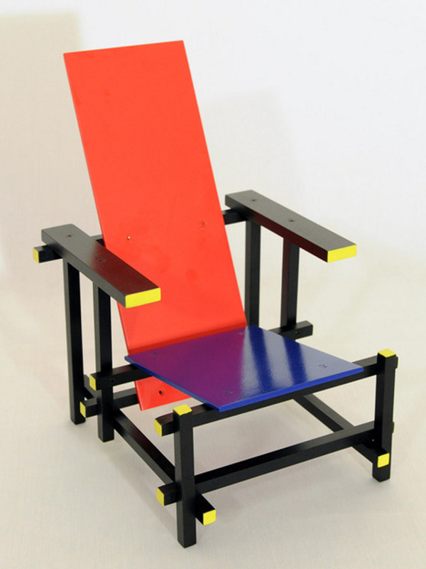 Rnb extended edition chair by the dza for Famous modern chairs