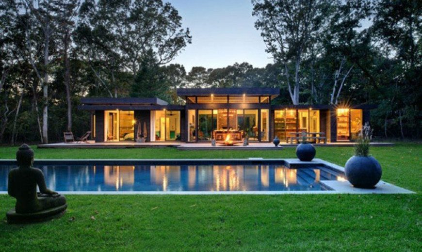 Robins Way Residence – a semi-transparent oasis of comfort