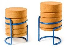 Comfortable, light and modern: SCRW Stool by Manuel Welsky