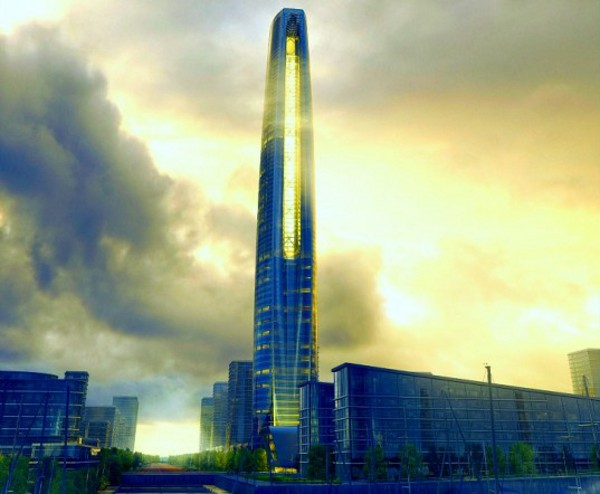 SOM Unveils Soaring Daylit Tower 1 SOM Greenland Suzhou Center is a Super tall Daylit Tower