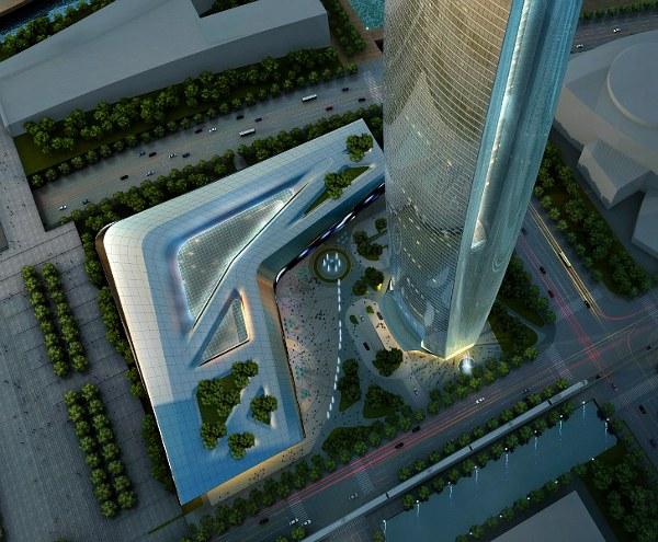 SOM Unveils Soaring Daylit Tower 2