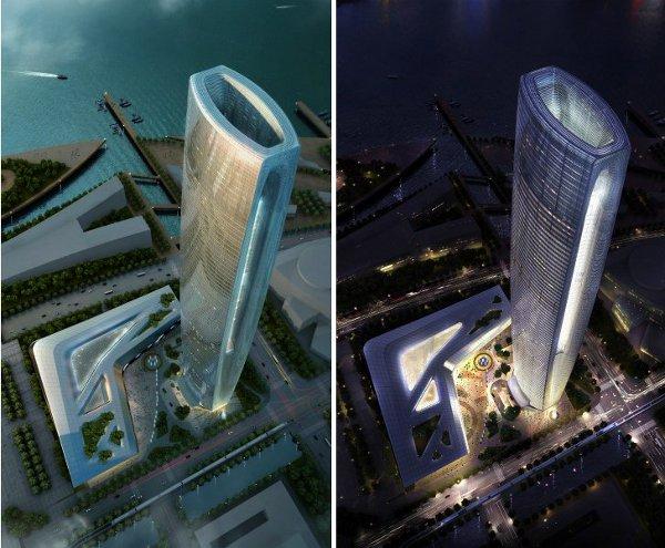 SOM Unveils Soaring Daylit Tower 3