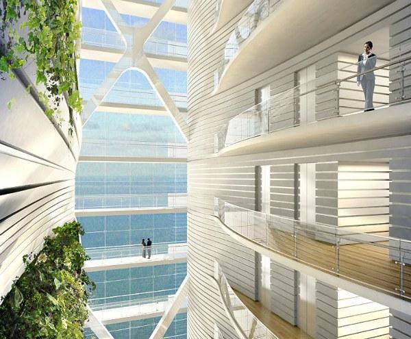 SOM Unveils Soaring Daylit Tower 5