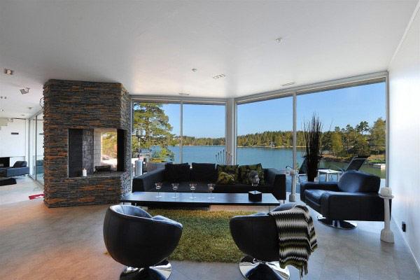 Scandinavian Villa 1 Scandinavian Villa Exudes Real Beauty