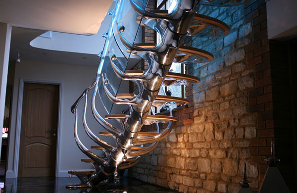 Sci-Fi Sculptural Staircase 2
