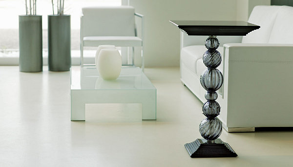 Seguso Interiors Mori Side Table