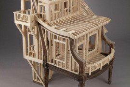 Sit/Stay by Ted Lott Explores Sculptural House Framing