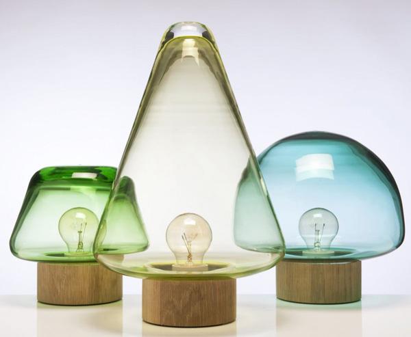 Skog Lamps 2 Simply beautiful Skog lamps from Caroline Olsson