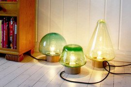 Simply beautiful Skog lamps from Caroline Olsson