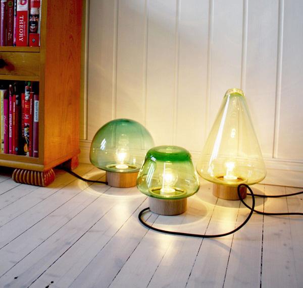 Skog Lamps Simply beautiful Skog lamps from Caroline Olsson