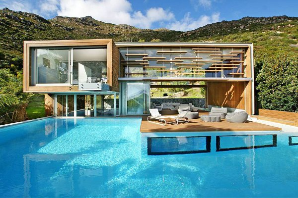 interesting cool house pools there pool deck allows the beauty of - Cool House Pools
