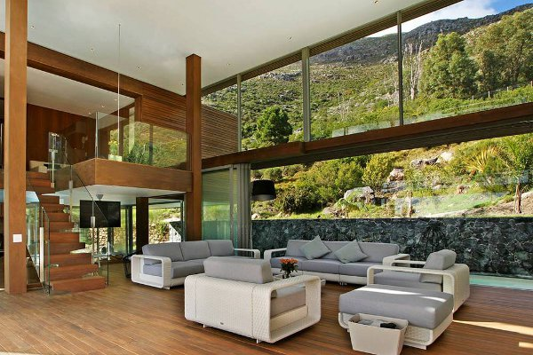 Spa House Cape Town South Africa 2 Spa House in Cape Town is a Cool Contemporary Residence
