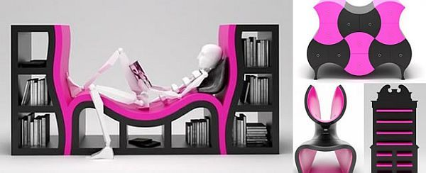 Stanislav Katz Brilliantly Bright Furniture Designs