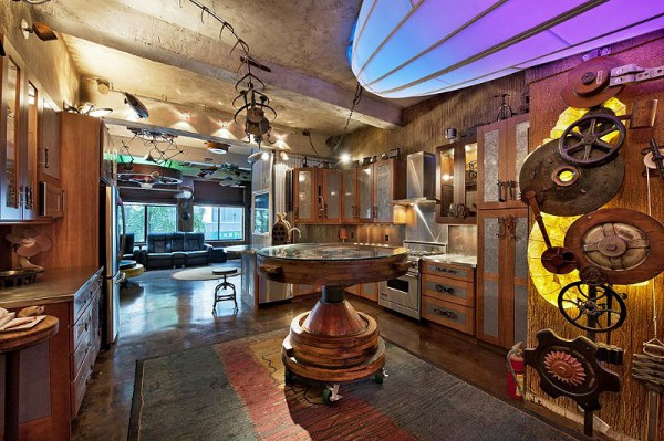 Surreal Steampunk Apartment 2