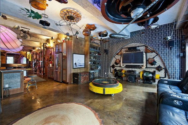 Surreal Steampunk Apartment 3