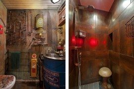 Surreal Steampunk Apartment in Chelsea is Stylishly Designed
