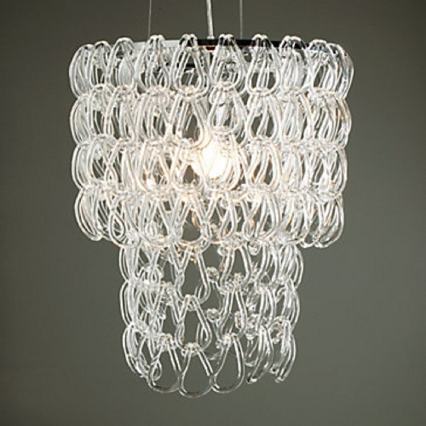 The Glass Links Chandelier from Z Gallerie