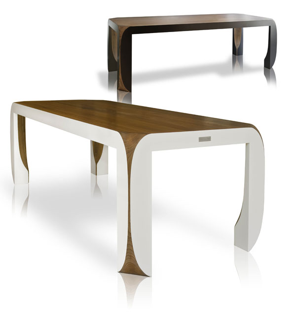 Una Parte Design Dining Table by Jules Jeremy 1 Design Furniture by Jules and Jeremy is Sleek and Elegant