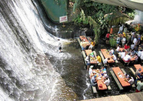 Villa Escudero 1 Villa Escudero with waterfall restaurant is the most beautiful dining experience one can have