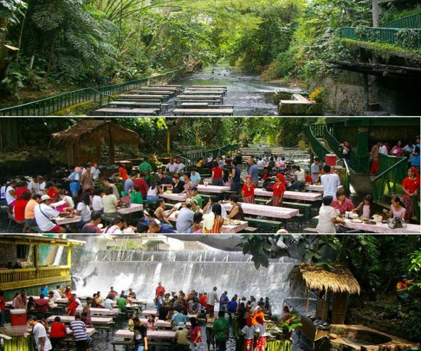 Villa Escudero With Waterfall Restaurant Is The Most
