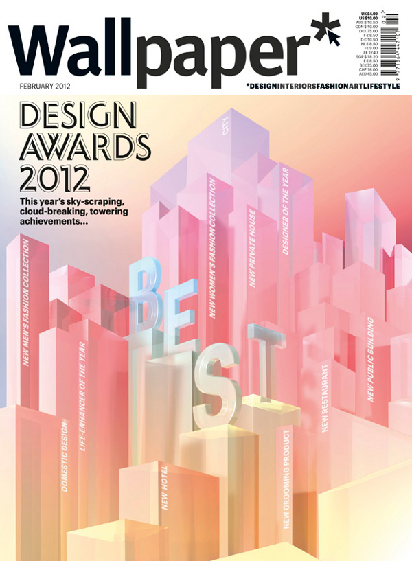 W 155 Wallpaper Design Awards 2012 Panel Picks the Best of the Lot