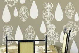 Bright Wallpapers to Give Home Interiors a Cool Edge