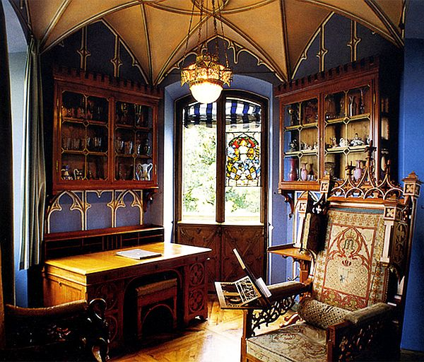 gothic inspired office How to Decorate With a Gothic Theme