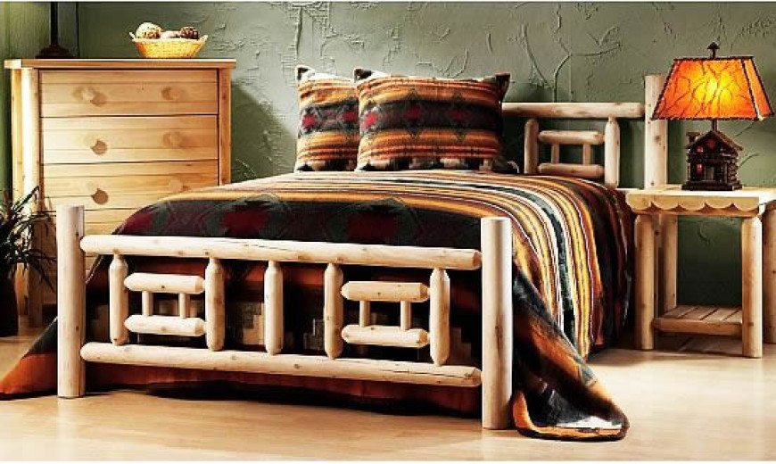Log Furniture Is Cool, Has Warmth & Style