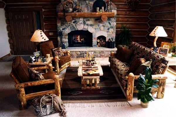 Log Furniture Is Cool Has Warmth Style