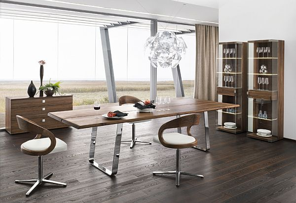 modern dining room decoration