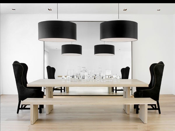 modern dining room Dining Rooms Decorating Trends for 2012