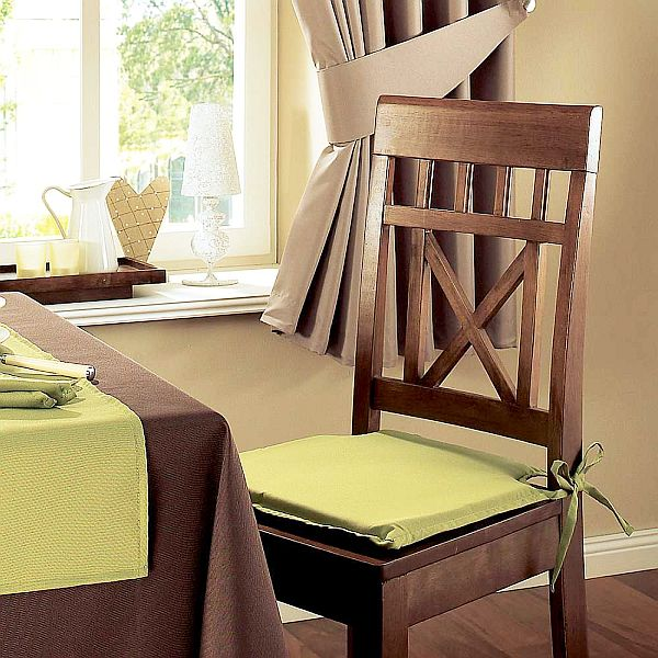 seat cushions Seat Pads for Kitchen Chairs: What and How to Choose?