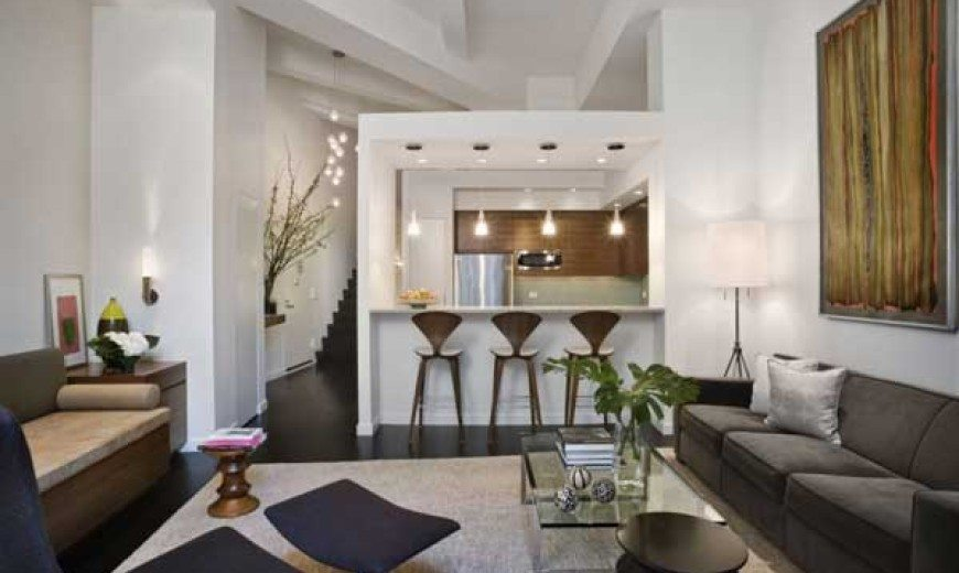 Exceptional renovation of a New York loft by ixdesign