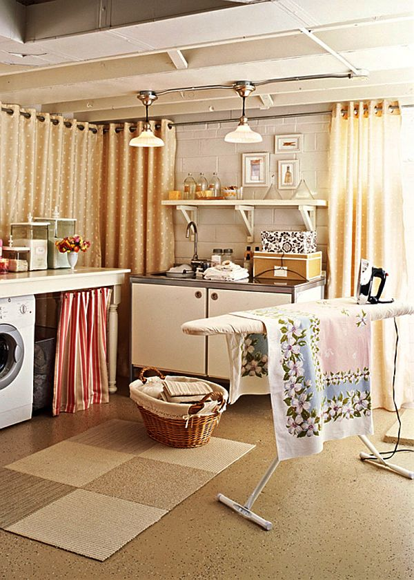 Utility Room Design Ideas small laundry room storage ideas View In Gallery Basement Laundry