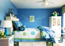 Blue Green Girls Room 217x155 Teenage Girls Rooms Inspiration: 55 Design Ideas