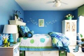 Blue Green Girls Room 270x180 Teenage Girls Rooms Inspiration: 55 Design Ideas