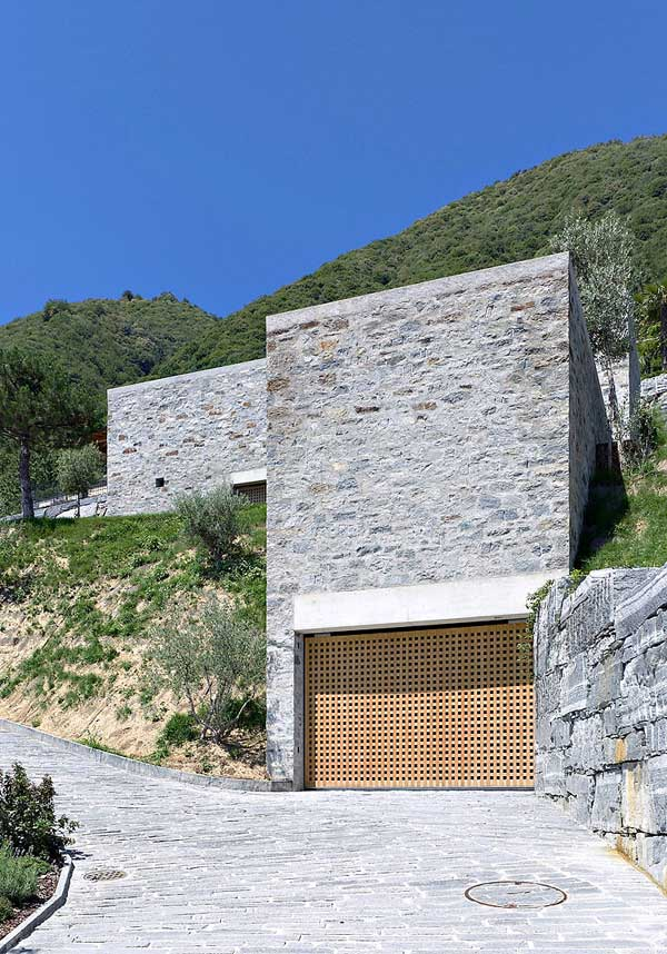 Brione House Modern Castle Resembling Brione House in Switzerland