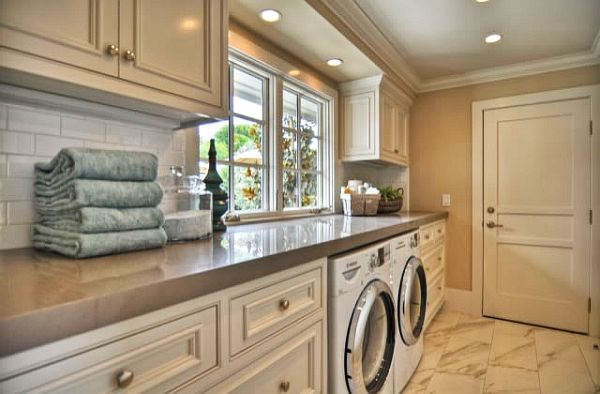 View In Gallery Classic Laundry Room Cabinets