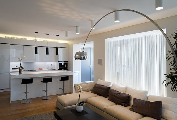 Contemporary Apartment in Moscow Moscow Contemporary Apartment Sports Elegance