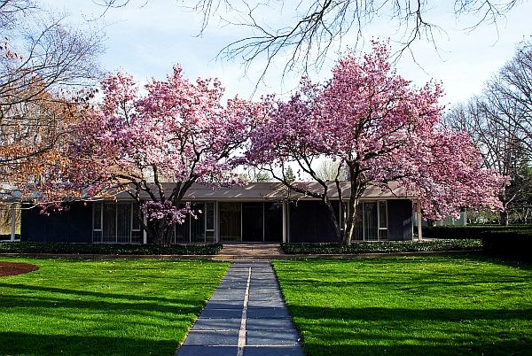 Eero Saarinen Miller Residence 1 Miller House: Classic Mid Century Modern Home for J Irwin Miller