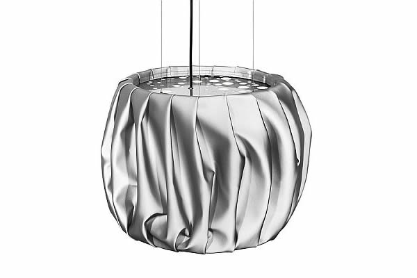 Folded fabric Moon lamps 2