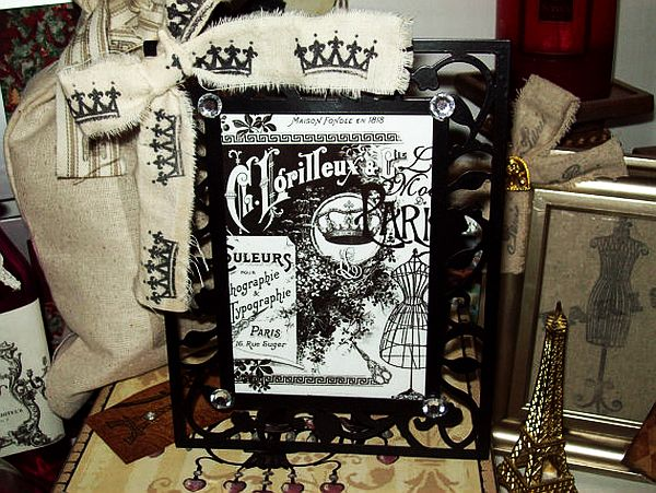 French decorative metal picture frame The Beauty of Metal Picture Frames
