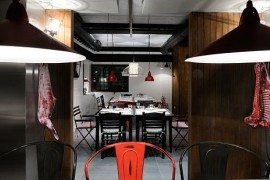 When it Comes to Eating Meat: Greek Tavern 'Fabrica Creaton' Shows it All