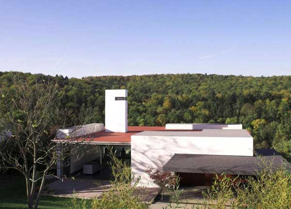 House B Wald Alexander Brenner 2 Colored Volumes and Plenty of Natural Light   House B Wald